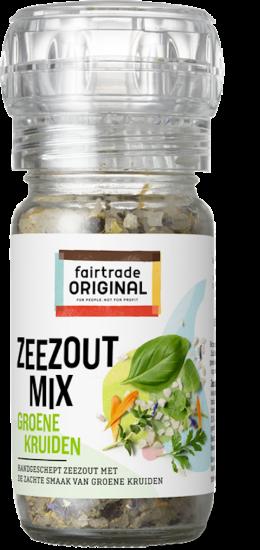 Zeezoutmix met groene kruiden