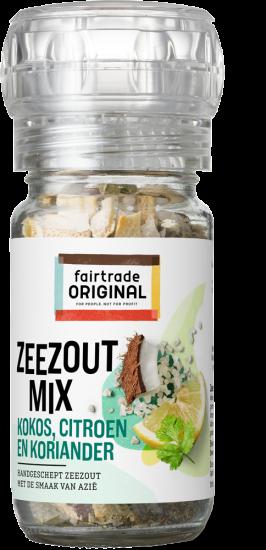 Zeezoutmix met kokos, citroen en koriander 70 gr