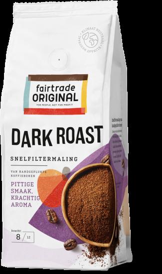 Dark roast snelfiltermaling 250 gr