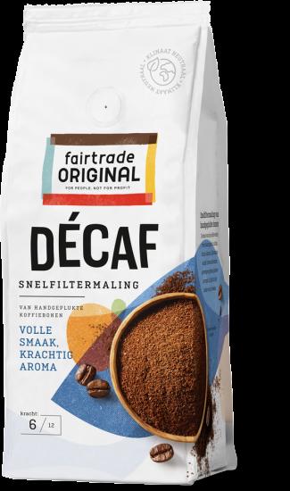 Decaf snelfiltermaling 250 gr