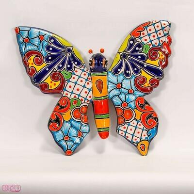 Vlinder voor aan de muur L