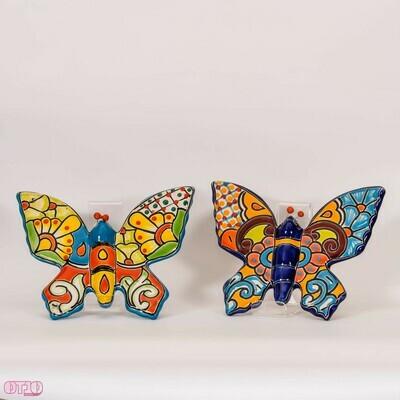 Vlinder voor aan de muur M