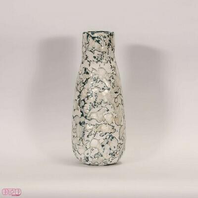 Vaas van gerecycled plastic