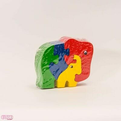 Puzzel olifantjes
