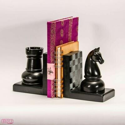 Boekensteun schaakspel