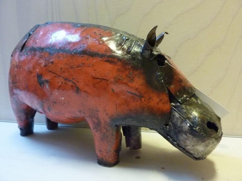 Nijlpaard van Scrap metal