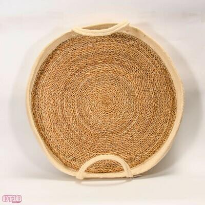 Dienblad gemaakt van touw