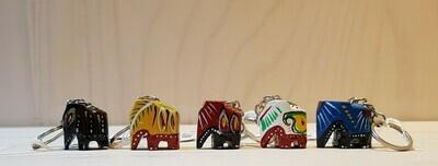 Sleutelhanger geluks olifantjes