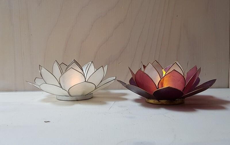 Waxinelichthouder Lotus