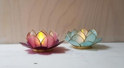 Waxinelichthouder Lotus S