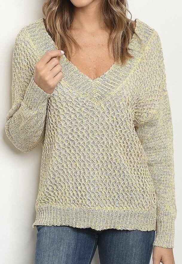 Neutral Glow Loose Sweater