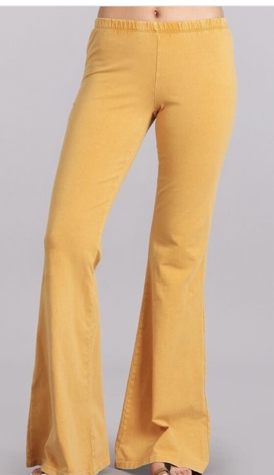 Mustard Mineral Chat Flares