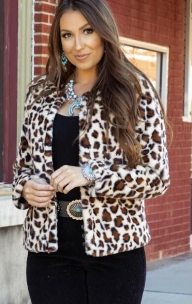 Wild Child Leopard Jacket