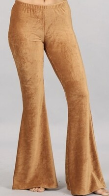 Camel Chat Corduroy Flares