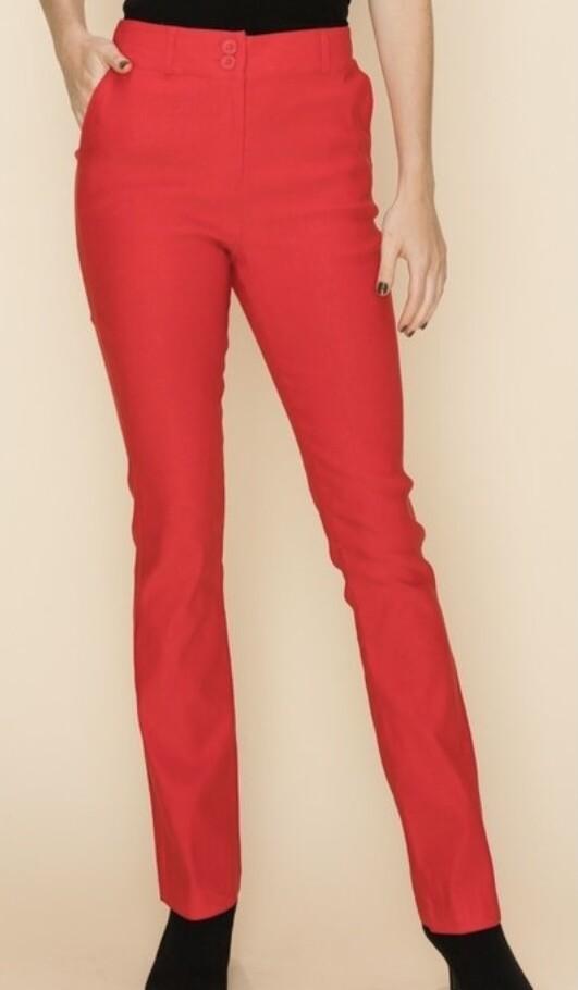 Red Pocket Skinnies