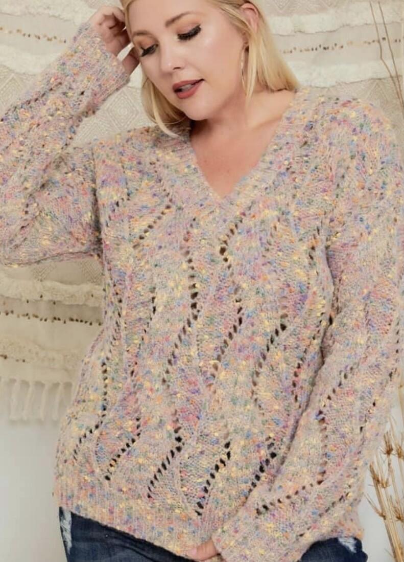 Candy Confetti Sweater