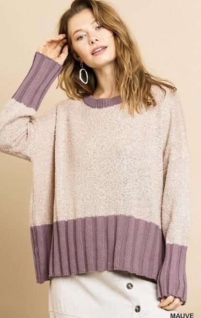 Mauve A' Lous  Sweater