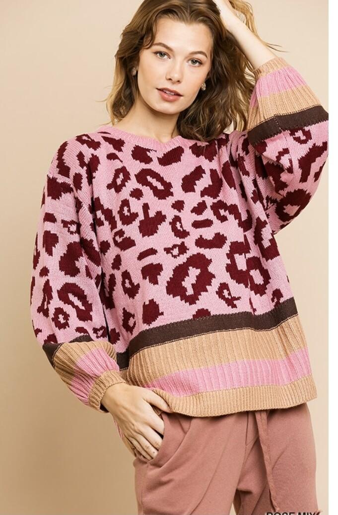 Leopard Crush Sweater
