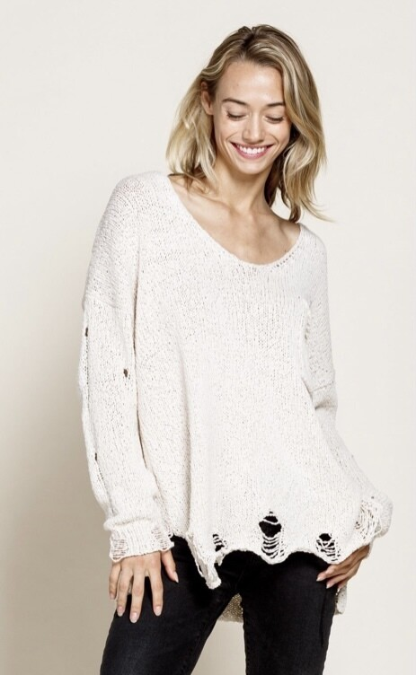 Neutral Obsessions Sweater