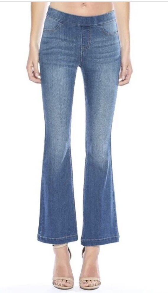 Petite Pull Up Flares