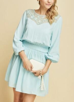 Delicately Blue Dress