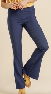 Denim Flare Trousers
