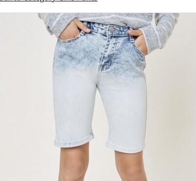 Ombre Bermuda Shorts