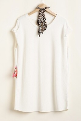 Simple is Best Round Neck Tee Dress/Tunic