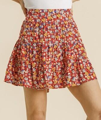 Field of Poppies Skirt