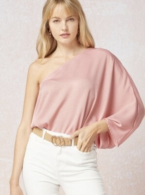 Blushes Off Shoulder Blouse