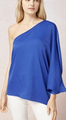 Royal Off Shoulder Blouse