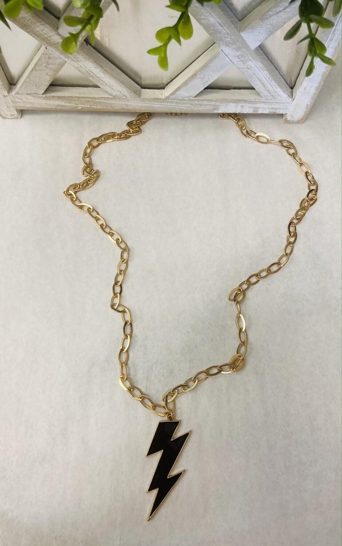Struck By Lightening Necklace