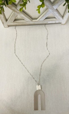 Silver Obsession Necklace