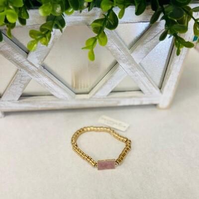 Pink Statement Bracelet