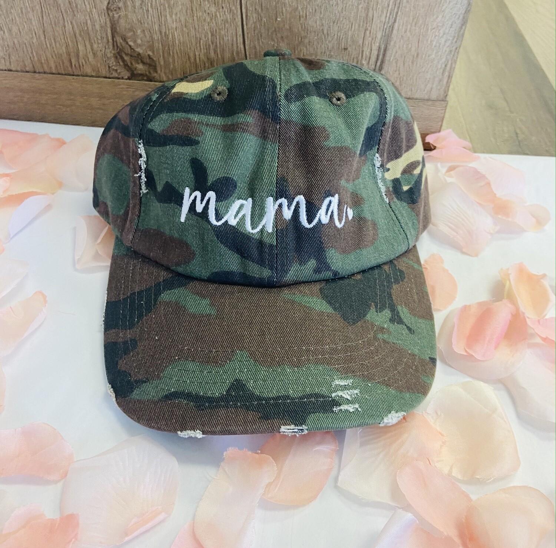 Camo Mama Cap