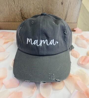 Gray Mama Cap