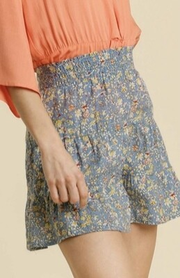 Love to Be Floral Shorts