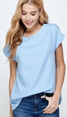 Light Blue Basic Top