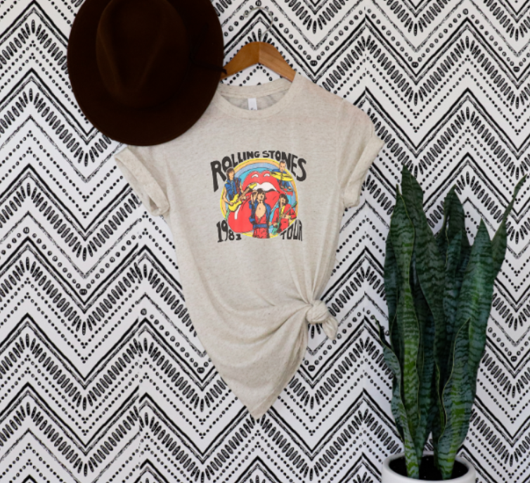 Rolling Stones Crew T-shirt