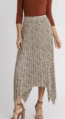 Carmen Leopard Skirt
