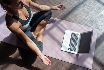 Drop-in Online Class - Practicing @yogazamene in a Group - Live & Interactive