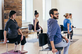 Corporate @yogazamene - Workplace Yoga Class