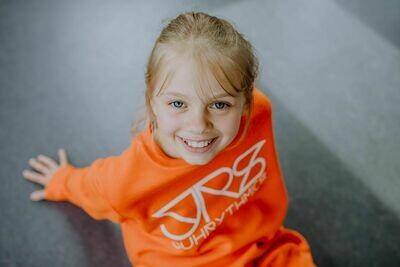 JRS- Kids Pulli Orange