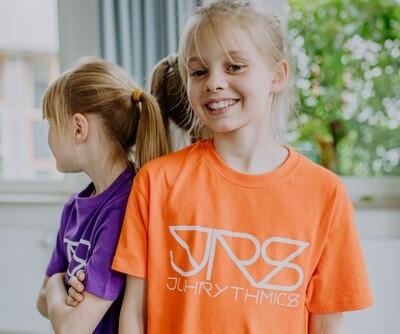 JRS- Kids T-shirt Orange