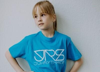 JRS- Kids T-shirt Hellblau