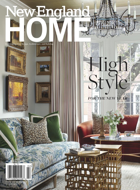Year Long Subscription to NE Home Magazine - 2 winners! (Raffle Ticket)