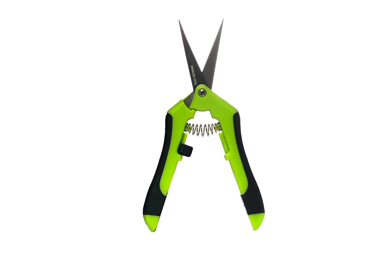 Spring Loaded Scissors Curved blade