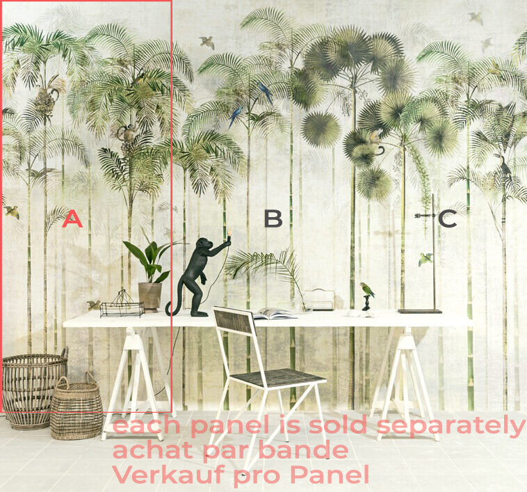 MABE-WILDGREEN-BANDE A Papier-peint