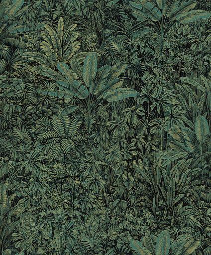 MABE-CURIOGREEN Wallpaper