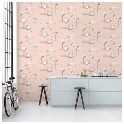 Cole & Son - Wallpaper Flamingos